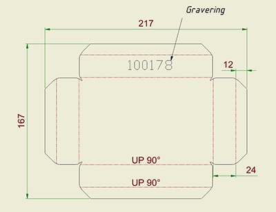 Autodesk Inventor - Konvertere tekst til single line for gravering på Flat Pattern
