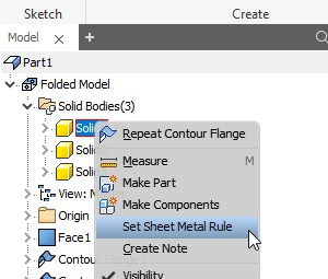 Tips og tricks til Autodesk Inventor Sheet Metal pladetykkelse