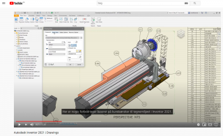 Autodesk Inventor 2021 Drawings | Invent A/S