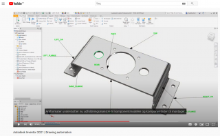 Autodesk Inventor 2021 Drawing automation | Invent A/S