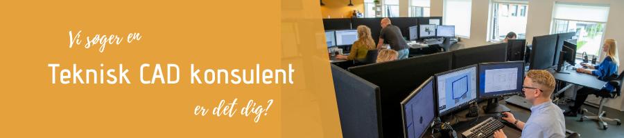 Vi søger en Teknisk CAD Konsulent