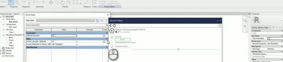 Shared Parameter File med Dynamo i Revit