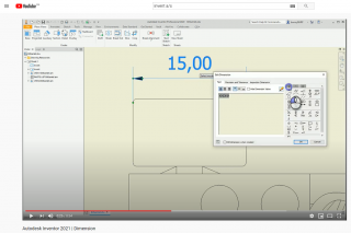 Autodesk Inventor 2021 | Dimension | Invent A/S