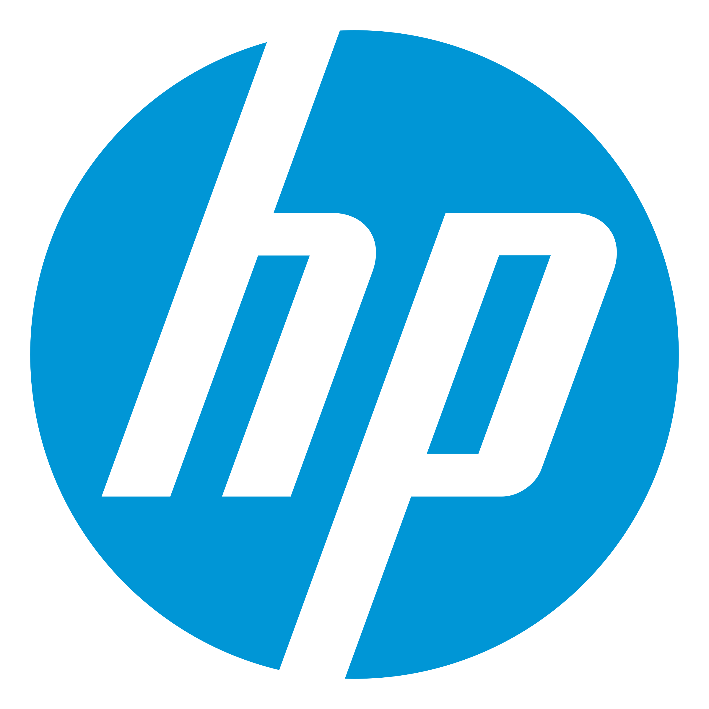 hewlett packard logo png transparent